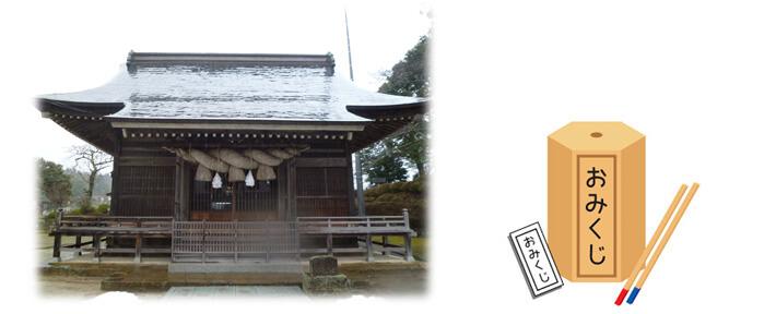 加茂神社の拝殿